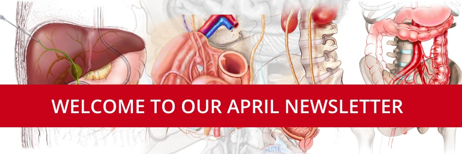 Welcome to our April Newsletter